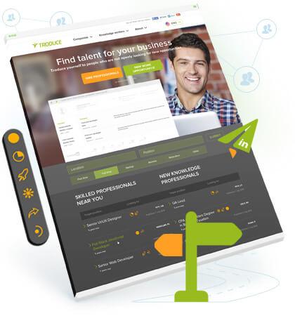 career marketplace app design