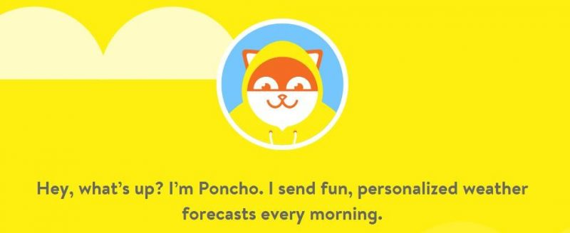 chatbot-app-poncho-website-screen