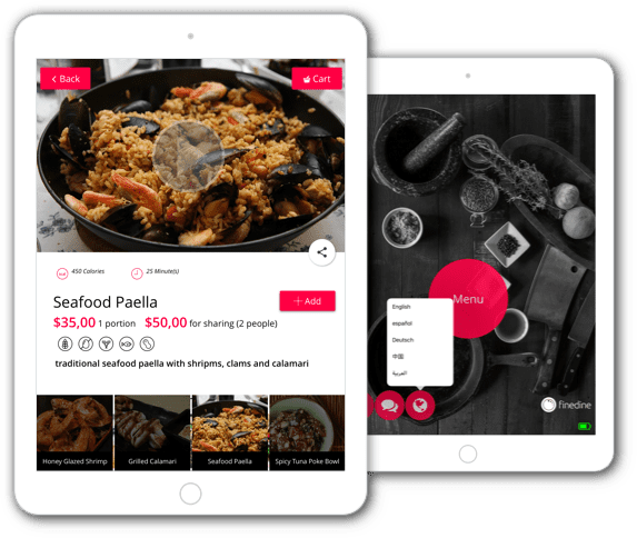 finedine-restaurant-menu-app